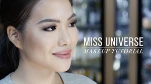 watch miss universe makeup tutorial