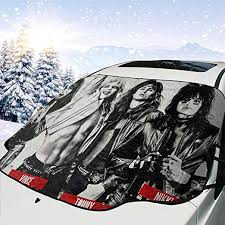 Amazon Com Annesemberton Motley Crue Car Windshield Snow Cover Waterproof Frost Guard Winter Windshield Snow Ice Cover Windproof Summer Windshield Sun Shade Fits Most Cars Home Kitchen