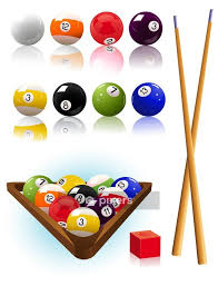 Billiard Objects Vector Illustration Wall Decal Pixers We Live To Change