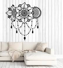 Vinyl Wall Decal Bouquet Floral Ornament Flower Motif Home Interior St Wallstickers4you