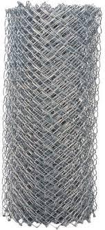 50 Galvanized 11 5 Gauge Chain Link Fence Fabric At Menards