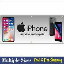 Computer Smart Cell Phone Repair Retail Vinyl Wrap Sticker Signs Banner Poster For Sale Online Ebay