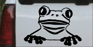 Tree Frog Car Or Truck Window Decal Sticker Or Wall Art Decalsrock