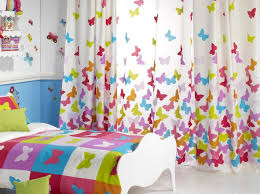 Curtain For Kids Room Girl Papillon Rioma Kids Room Curtains Kids Curtains Blue Curtains For Bedroom