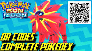 Pokémon Sun and Moon - Complete Pokédex (ALL QR Codes & Shinies ...
