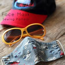 face mask pattern free sewing pattern