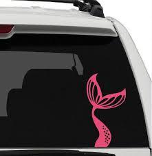 Mermaid Tail Vinyl Car Window Decal Sticker You Choose Etsy