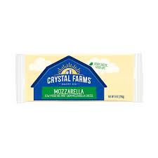 crystal farms mozzarella cheese 8 oz