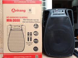 Loa kéo karaoke Arirang MIK-3600, Giá tháng 9/2020