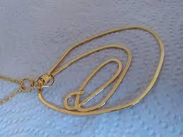 pendant necklace unique gold necklace