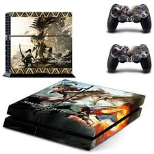 For Monster Hunter World Ps4 Skin Sticker Consoleskins Co
