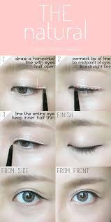 kawaii makeup tutorial eyeliner