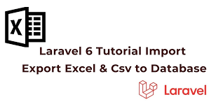 laravel 7 6 import export excel and csv