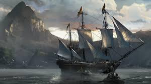 wallpaper boat sailing ship video