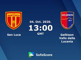 San Luca Gelbison Vallo della Lucania live score, video stream and H2H  results - SofaScore