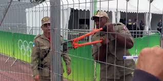 Rio Olympic Stadium Unlocked With Bolt Cutters After Officials Lost The Keys Business Insider