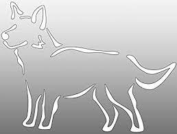 Amazon Com Large White Vinyl Abstract Fancy Blue Heeler Sticker Window Decal Acd Australian Cattle Dog Kitchen Dining