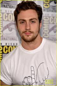 Chris Evans & Aaron Taylor-Johnson Get Touchy Feely at 'Avengers ...