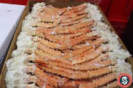 Buffet Style Golden King Crab Clusters ...