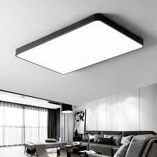 2020 modern ceiling lights led black