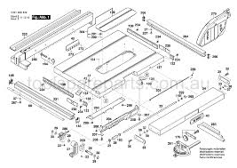 Genuine Spare Parts For All The Biggest Brands From Makita Ryobi Hitachi And More Bosch Gts 10 J 3601m30540 Spare Parts