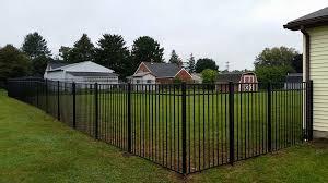 5 Ft Black Aluminum In Reedsville Russler Fence Company Facebook