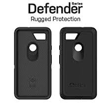 Amazon Com Otterbox Defender Series Case For Google Pixel 2 Xl Retail Packaging Black
