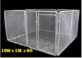 Pre Assembled Modular Chain Link Dog Kennels Pet Fencing Puppy Pens And Dog Kennel Shade By Kennelpro Modular Dog Kennelso