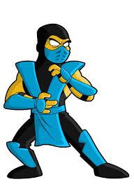 Springfield Punx Sub Zero Mortal Kombat Inspiration For Rhyse S Costume Mortal Kombat Simpsons Characters Simpsons Art