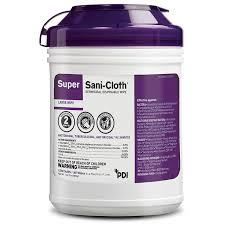 super sani cloth germicidal disposable