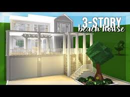 bloxburg 75k family beach house you