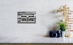 Prada Marfa Black And White Art Print By Jc Findley