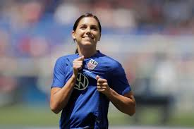 Alex Morgan: USWNT star, mom-to-be OK with Olympic postponement