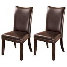 leather parson chairs com