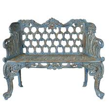 victorian style cast iron bench andy