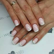 Spn Uv Laq 502 My Wedding Dress 506 Rose French Nails By Alicja