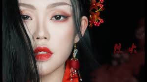 kylin柒七 traditional chinese makeup