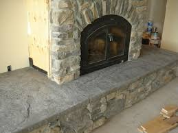 cement hearth stamped hearth