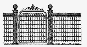 Gothic Vector Fence Picket Fence Styles Design Hd Png Download Kindpng