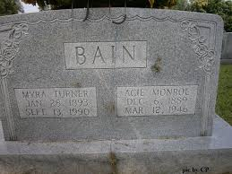 Myra Turner Bain (1893-1990) - Find A Grave Memorial