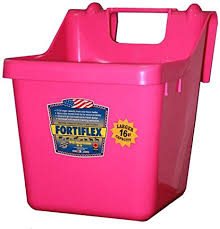 Fortiflex Hook Over Fence Feeder For Dogs Cats And Horses 16 Quart Hot Pink Fortex Fortiflex Amazon Co Uk Pet Supplies