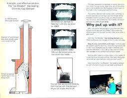 open damper throat hearth flush floor