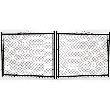 Common 3 Ft X 12 Ft Actual 3 Ft X 11 5 Ft Vinyl Coated Vinyl Coated Steel Chain Li In 2020 Chain Link Fence Gate Black Chain Link Fence Chain Link Fence