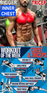 workout on week chest triceps part1