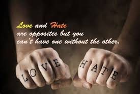 love and hate quotes goodreads