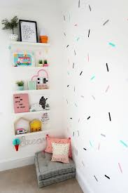 My Girls Shared Bedroom Tour An Ice Cream Themed Room Home Renovation Project 4 Mummy Daddy Me Creambedr Shared Girls Bedroom Room Themes Kid Room Decor