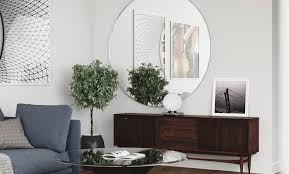 use round mirrors to complete any room