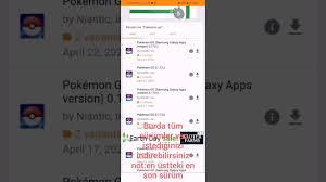 Pokemon go nasıl indirilir - YouTube