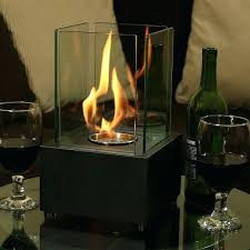 bio ethanol fireplace table for indoor