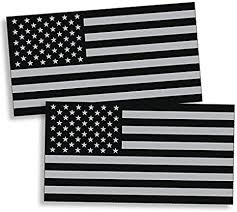 Amazon Com Black And Gray Usa Flag Sticker Decal American Military Car Truck Auto Automotive Graphic Bumper Window Stickers Honoring Police Law Enforcement 3m Vinyl Grunge Grey Everything Else